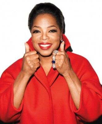 coat red coat oprah winfrey wool coat black girls killin it