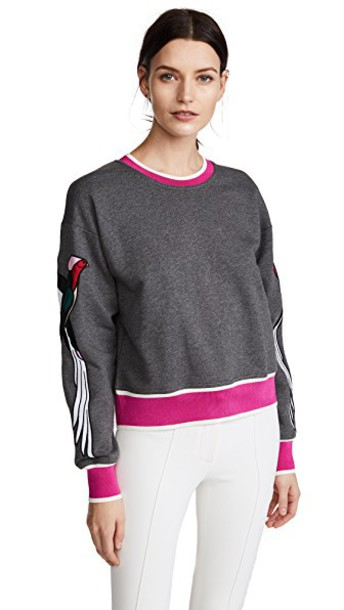 No. 21 sweatshirt grey sweater