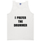 I prefer the drummer adult tank top - basic tees shop