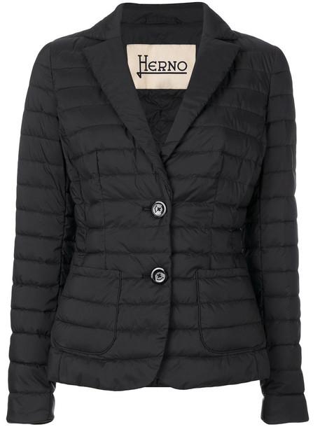 Herno blazer jacket style women black