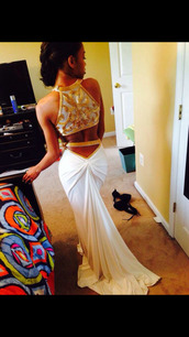 white dress,backout,sleeveless dress