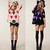 Fashion Women's Loose Hollow Heart Print Hem Hole Knit Coats Jumper Tops Sweater | eBay