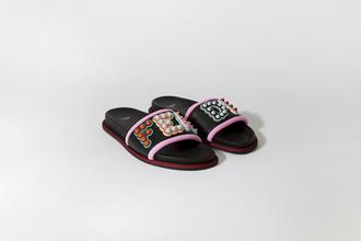 shoes fendi sandals flats fendi