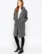 coat,grey,fallen,long coat,autumn winter coat