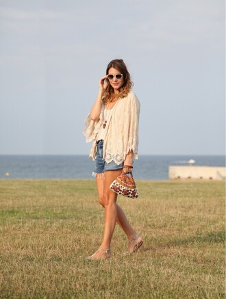 my daily style shoes jewels bag shorts jacket sunglasses