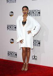 dress,shirt,shirt dress,sandals,American Music Awards,bra,taraji p. henson