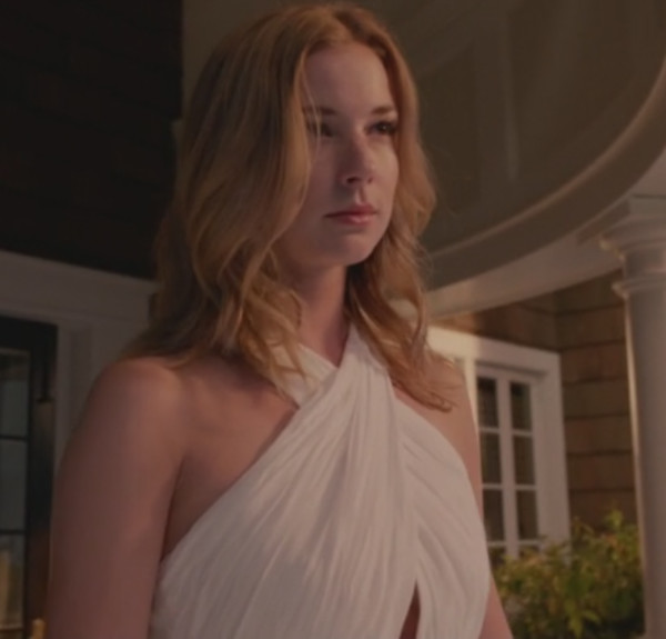 revenge emily vancamp white maxi dress