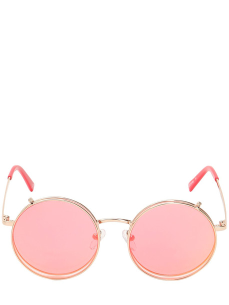 metal disney sunglasses red