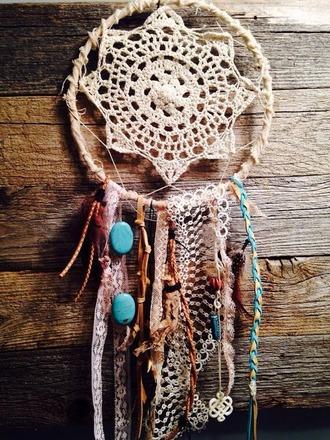 dreamcatcher jewels indie decoration nation knitwear