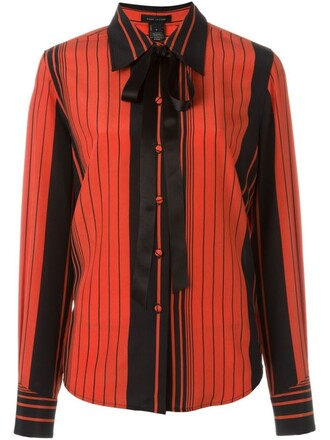 shirt bow red top