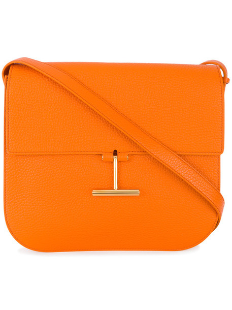 Tom Ford women bag shoulder bag cotton yellow orange