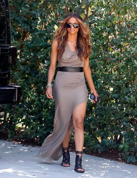 slit sandals high low dresses high low dress