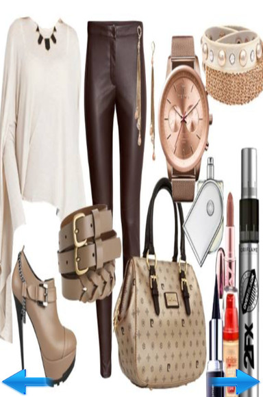 bag beige handbag