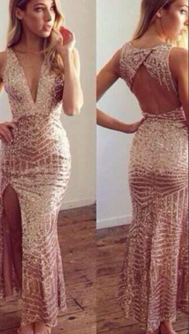 """sequin diva"" long gold maxi dress – glamzelle"