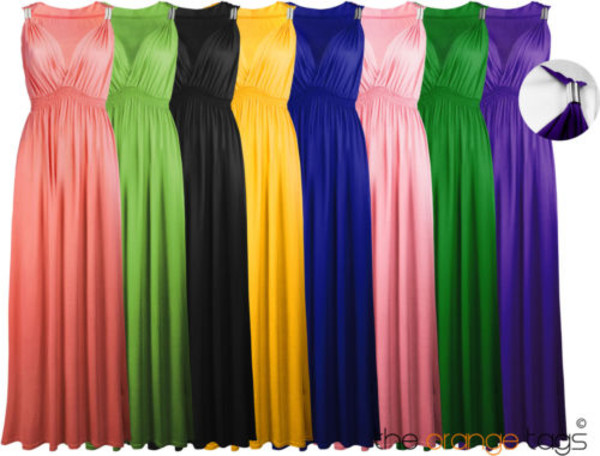 dress long stretch maxi dress long dress elegant coral green mint yellow black purple royal blue pink detail celebrity blue dress blue grecian maxi dress