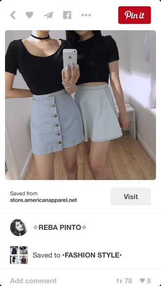 skirt outfit pale mini skirt denim skirt denim style soft grunge shirt