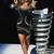 Black Mini Dress - Bqueen Sass Bide Embellished Jersey | UsTrendy