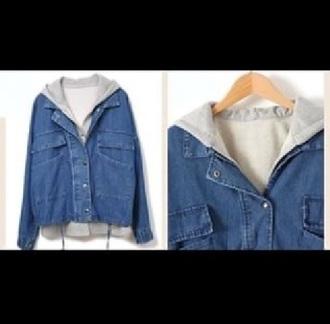 jacket skater jacket jeans blu jeans jacket blue blouse skater pale
