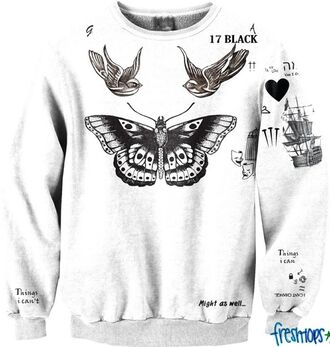 sweater harry styles tattoo