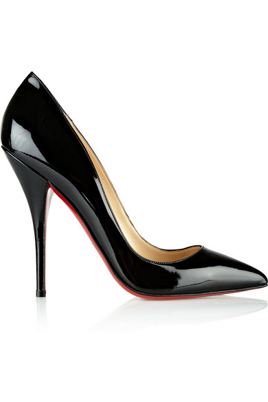 Christian Louboutin | Batignolles 120 patent-leather pumps | NET-A-PORTER.COM
