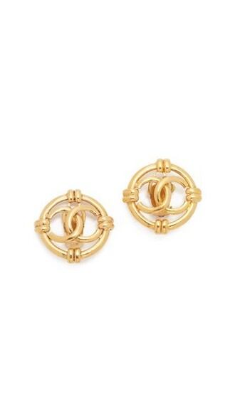 nautical earrings gold jewels