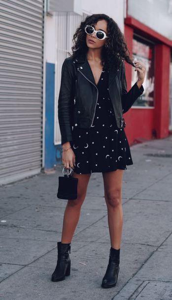 dress ankle boots ashley madekwe blogger fall outfits streetstyle jacket wrap dress