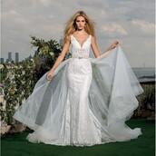 dress,elegant,appliques,lace dress,wedding dress