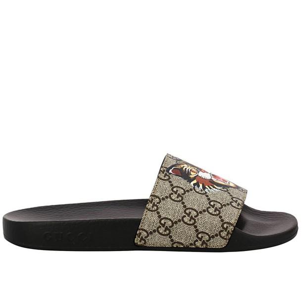 gucci sandals shoes women sandals shoes flat sandals beige