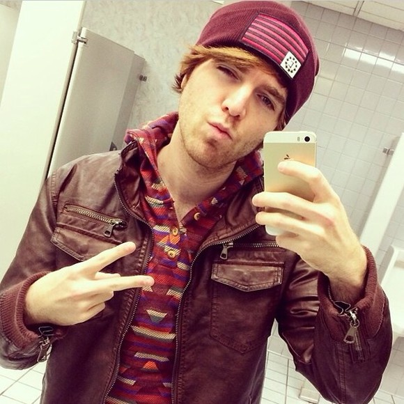 clothes sweater jacket shane dawson youtube hats jackets sweatshirts joey graceffa celebrities youtuber hat