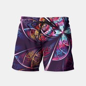 swimwear,abstract,wave,purple,summer,shorts,menswear