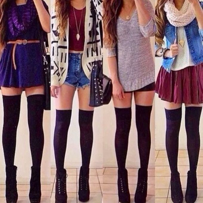 sweater shoes outfit jacket shirt girly outfits tumblr tumblr outfit girly outfit girly outfits tumblr skirt red boots bag black grey short cardigan scarf leggings stockings thigh highs high heels scarf red