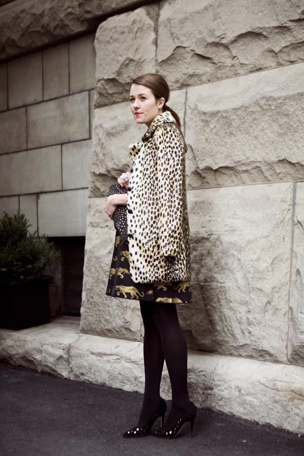 sequins and stripes dress jacket bag shoes jewels