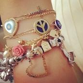 jewels,bracelets,set bracelets,jewelry,girly,friendship bracelet,bag