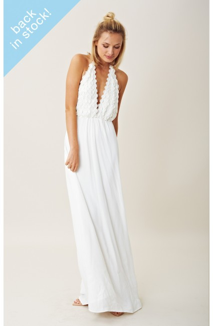 For love and lemons camilla maxi dress