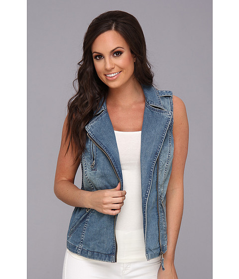 Lucky Brand Denim Moto Vest Skyline - Zappos.com Free Shipping BOTH Ways