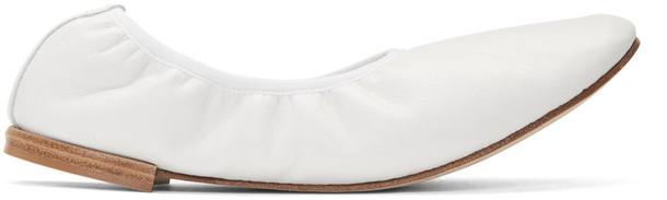 Repetto flats white shoes