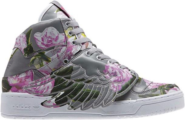shoes sneakers jeremt scott's