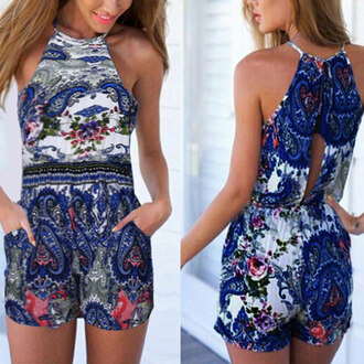 floral floral dress floral romper outfit summer summer outfits cute top lookbook romper