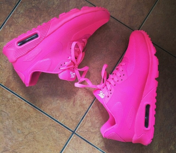 shoes nike pink air max sneakers womens 9.5 pink neon love them wauw gosh  where to 7ba0f3371835
