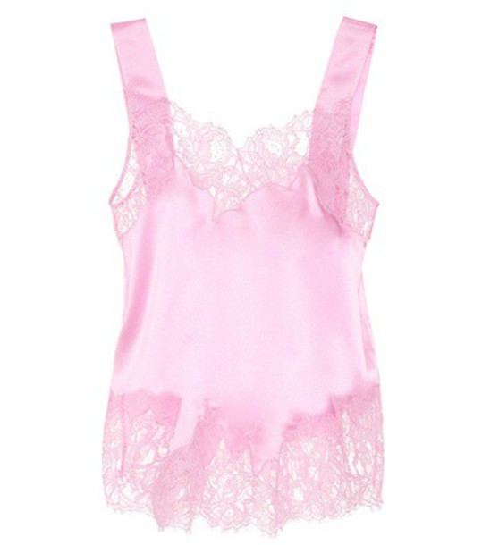 Givenchy camisole lace silk pink underwear
