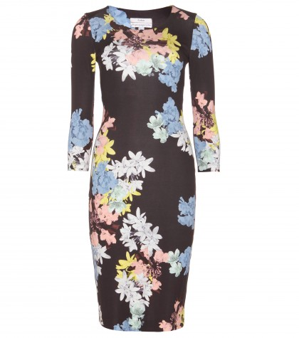 Allegra Floral-Print Jersey Dress ∇ Erdem ☆ mytheresa