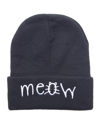 hat beanie beanies hat grunge hipster indie alternative pastel pastel goth meow meow hat black bohoh boho hippie cats beanie. black beanie pastel grunge grunge wishlist fashion jewels hipster wishlist alternative apparel alternative fashion pastel hair indie boho festival accessories accessory style winter outfits fall outfits