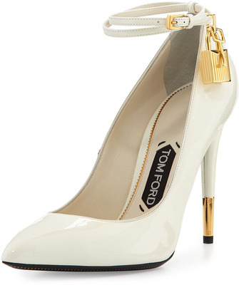 Tom ford patent ankle