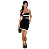 dress,black,bandage,bandage dress,edgy,bqueen,fashion,girl,sexy,elegant,chic,clubwear,bodycon
