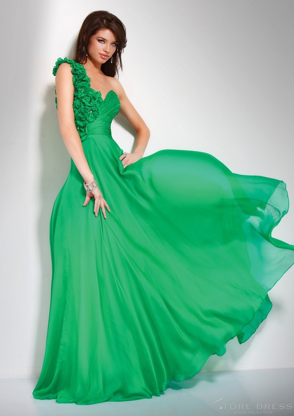 dress long prom dress prom dress clothes blue evening dresses green dress