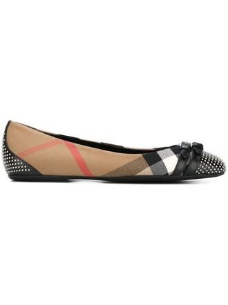 studded women cotton black shoes