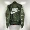 Nike ma-1 flight bomber jacket - olive