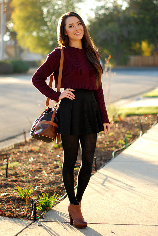 hapa time sweater skirt bag shoes