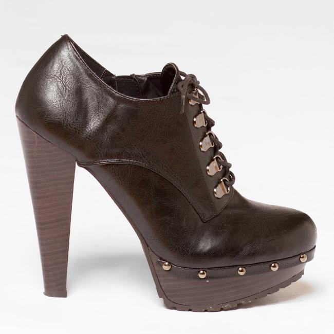 Qupid Saydie-13X Studded Bootie in Black – FLYJANE