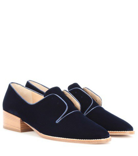 Gabriela Hearst blue shoes